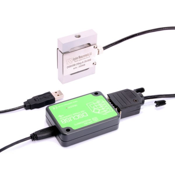 DBBSM S-Beam Load Cell with DSCUSB USB Converter