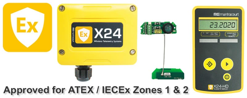 Wireless IECEx & ATEX Approved Telemetry Instrumentation for Hazardous Zones 1 & 2